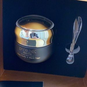 D'OR24K prestige black truffle &black pearl cream